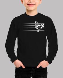 corazón de la música - versión negra