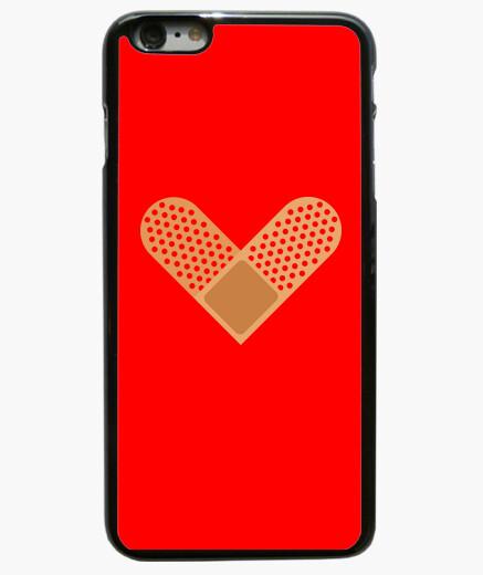 Funda iPhone 6 Plus / 6S Plus Corazón de tirita