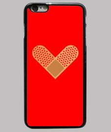 Corazón de tirita