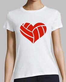 corazón de voleibol