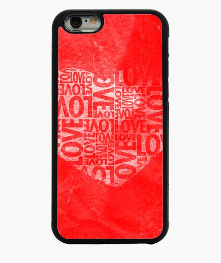 Funda iPhone 6 / 6S corazón del amor