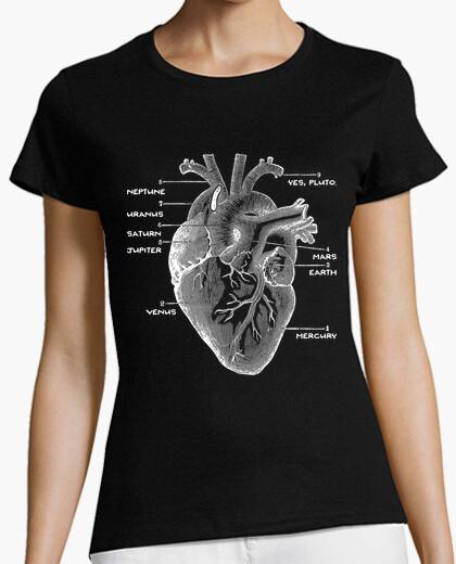 Camiseta corazón del astro