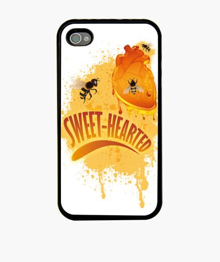 Funda iPhone Corazón dulce (de miel)