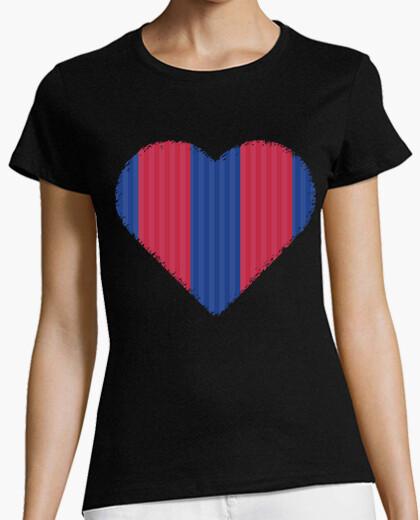 Camiseta Corazon Fc Barcelona Nº 1310365 Camisetas Latostadora