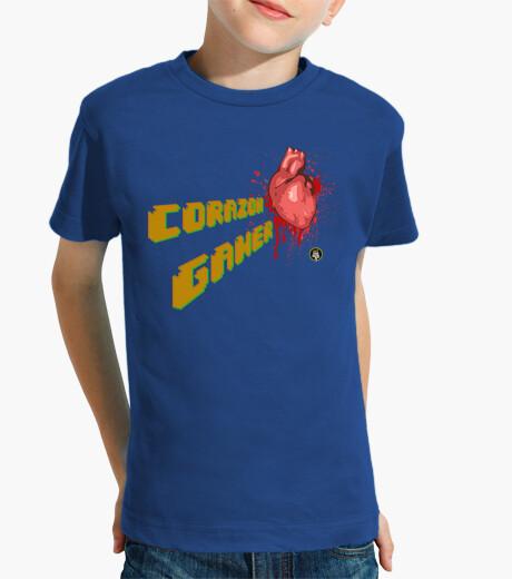 Ropa infantil Corazón Gamer