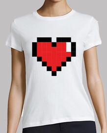 Corazon Gamer Pixel