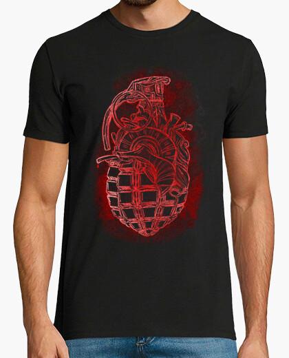 Camiseta Corazón Granada