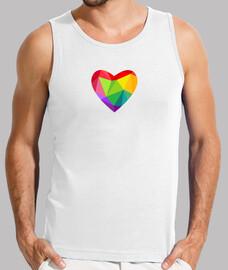 Corazón LGBT Camiseta sin mangas