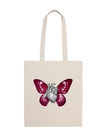 Corazón mariposa