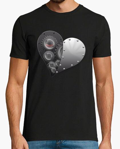 Camiseta Corazón Metálico