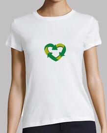 Corazón reciclaje
