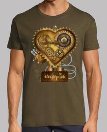 Corazón Steampunk Metal