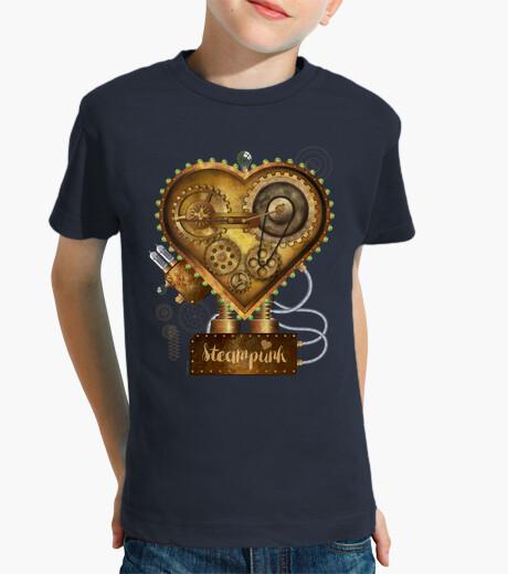 Ropa infantil Corazón Steampunk Metal