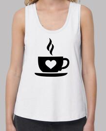 corazón taza de café