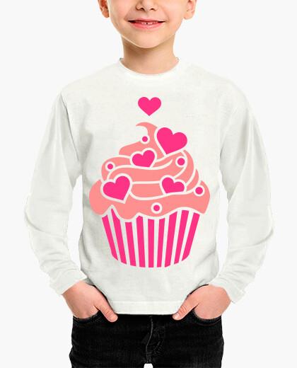 Ropa infantil corazones de cupcake