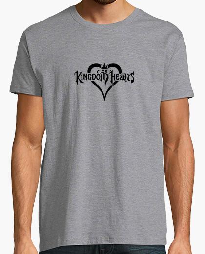 Camiseta corazones del reino