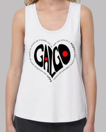 CorazónNegro-Camiseta TLargaBlanco