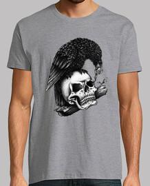 corbeau crâne