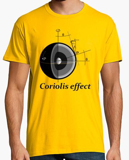 T-shirt coriolis effect