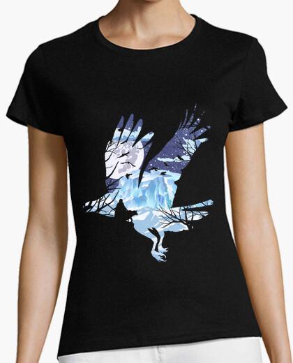 Tee-shirt corneille d'hiver