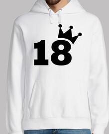 corona 18 cumpleaños