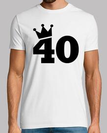 corona 40 ° compleanno