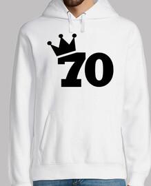 corona 70 cumpleaños