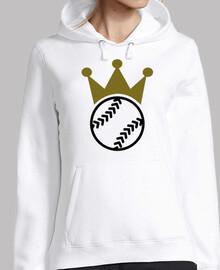 corona de softbol