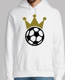corona del rey del fútbol