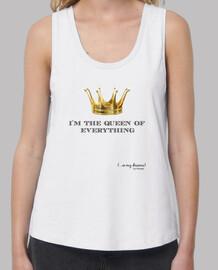 Corona Queen (Letras Negras)