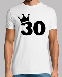 coronar 30 cumpleaños