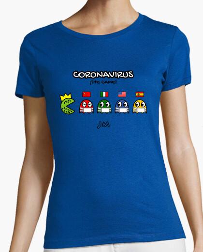 Tee-shirt coronavirus - le jeu - pac man