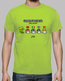 coronavirus - the game - pacman