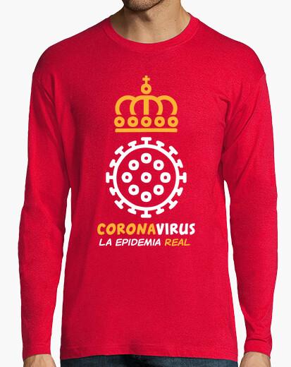 Camiseta Coronavirus, la epidemia real