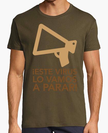 Camiseta Coronavirus Tributo personal sanitario