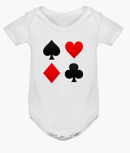 Abbigliamento bambino corpo del bambino vestiti poker