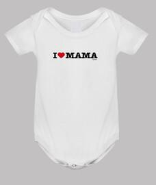 corps bébé i love maman