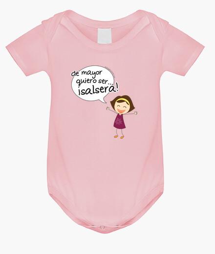 Vêtements enfant corps bebe plus envie d'être la salsa,  femme