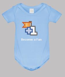 corps de bébé: devenir fan (facebook)