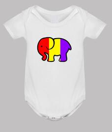 corps de l'éléphant républicain
