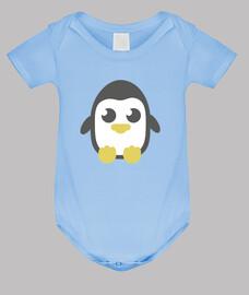 corps pingouin, 3 couleurs