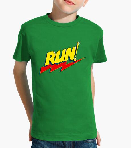 Ropa infantil ¡correr!