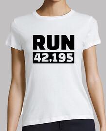 correr maratón de 42 kilómetros