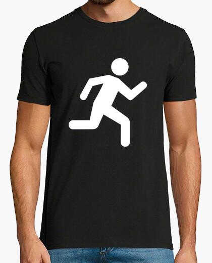 Camiseta corriendo