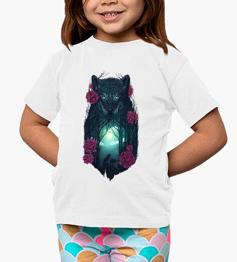 Ropa infantil corriendo con los lobos
