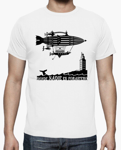 Corua - hercules tower t-shirt