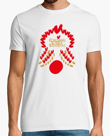 Camiseta cosecharas lo que siembras español