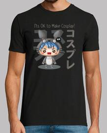 Cosplay Boy Camiseta Hombre