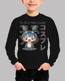 Cosplay Boy Camiseta Niño