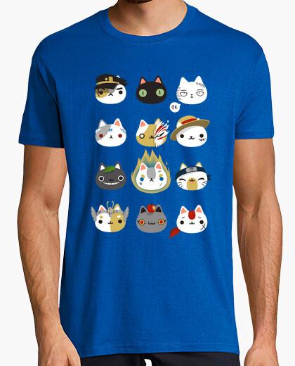 Tee-shirt Cosplay chats